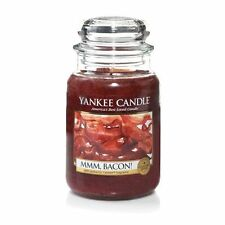 Yankee Candle - MMM, Bacon! - 22 oz - Collector's Edition Man Candle!! - RARE!!
