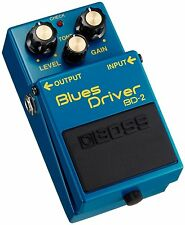 BOSS BD-2 Blues Driver Guitar Effect Stomp Pedal NEW FREE SHIPPING