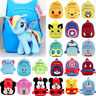 Toddler Baby Boys Girls Small Backpack Cartoon Animal Plush Shoulder School Bag