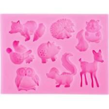 Head Decorating Cartoon Fondant Baking Tools Animal Silicone Molds Cake