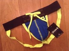 NEW Football Jock enhancing pouch - Royal - M - New with tags