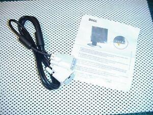 Genuine Dell 6715009011-20 DVI Monitor Cable 6ft NEW