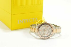 Invicta 21771 Angel Multi-Function Silver Dial Two Tone Stainless Steel Ladie...