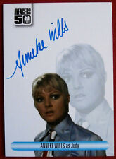 THE AVENGERS 50th - Anneke Wills as Judy - Autograph Card AVAW