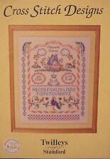 ALPHABET BIRTH SAMPLER~~   Twilleys of Stamford cross stitch design    NIP