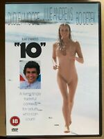 10 Ten DVD 1979 Midlife Crisis Romcom Comedy Classic w/ Dudley Moore + Bo Derek