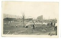 RPPC Tornado Damage WILKES BARRE PA Luzerne County Real Photo Postcard 7