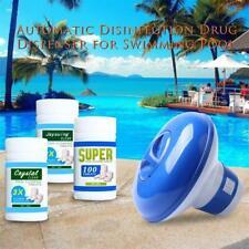 Comprimido Limpieza de Piscina (100 Pc) Dispensador de productos químicos para jacuzzi cloro flotante Limpiador