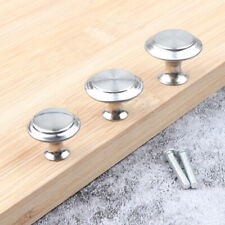 12pcs Kitchen Door Knobs Cabinet Handles Cupboard Drawer Stainless Steel NP2