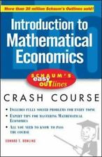 Schaum's Easy Outline of Introduction to Mathematical Economics: By Dowling, ...