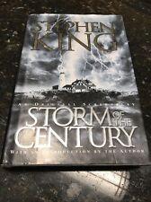 Stephen King: Storm of the Century HC hardcover 1999 Very Nice