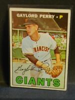1967 TOPPS GAYLORD PERRY S.F. GIANTS # 320 UNGRADED