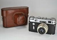 "RUSSIAN USSR ""ZORKI 6"" rangefinder camera + INDUSTAR-50 LENS, f3.5/50mm (12)"