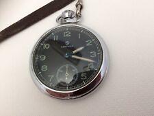 Reloj de bolsillo Excelente mecánico de Servicios Vintage orden de trabajo