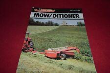 New Idea 299 Mow Ditioner Haybine Dealer's Brochure YABE10