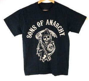 Sons Of Anarchy Mens Medium Black Graphic T-Shirt SAMCRO