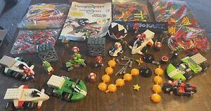 KNEX - MARIO Kart - Wii Mario Luigi Yoshi HUGE MIXED LOT - Nintendo - Motorcycle