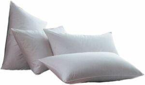 Luxury Jumbo Super Bounce Back Pillows -2 Pack filled with shredded Memory Foam