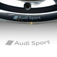 ADESIVO CERCHI AUDI SPORT S LINE ruota in lega A3 A4 A5 A6 TT Q3 Q5 S3 S-line A1