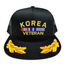 KOREA VETERAN RIBBON SCRAMBLED EGGS YUPOONG CAP HAT