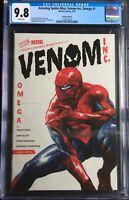 Amazing Spider-Man: Venom Inc Omega #1 1:50 Dell Otto Variant CGC 9.8 1292025018