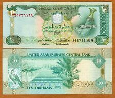United Arab Emirates, 10 Dirhams, 2004, P-20c, UNC > Arab Dagger