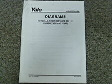 Yale C815 C816 Narrow Aisle Lift Truck Forklift Wiring Schematic Diagram Manual