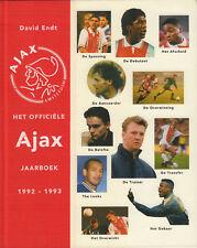 HET OFFICIËLE AJAX JAARBOEK 1992 - 1993