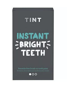Tint Instant Bright Teeth Whitening Kit Peroxide Free Brush On Tooth Gloss UB