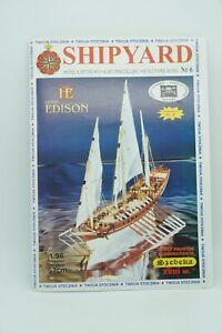 Kartonmodell Modellbaubogen Shipyard No 6 Szebeka SCHEBECKE 1:96 gebraucht