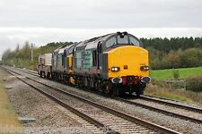 British Rail / DRS 37610 & 37606 (6M56) Rail Photo