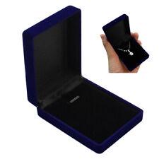 Velvet Jewelry Box Ring Earrings Bracelet Necklace Pendant Case Holder Organizer