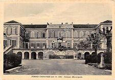 Cartolina - Postcard - Forno Canavese - Palazzo Municipale - anni '50