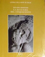 GIOVANNI MARIACHER LA SCULTURA DEL CINQUECENTO UTET 1987 NUOVO
