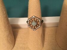* Authentic Chloe and Isabel Portico Hexagon Ring  - R096  Size 8 - NEW *