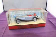 Matchbox Models of Yesteryear Y-20 Mercedes-Benz 540K Silver Series 1 Boxed 1:45