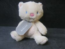 doudou chat ours beige rose 22 cm sergent major neuf