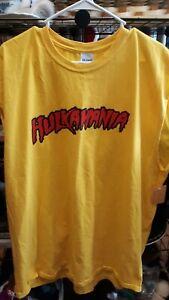 Sleeveless Hulkamania Hulk Hogan WWE tshirt xxl