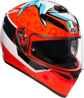 Casco helmet Integrale AGV Full-Face K-3 SV Multi Attack Taglia XL