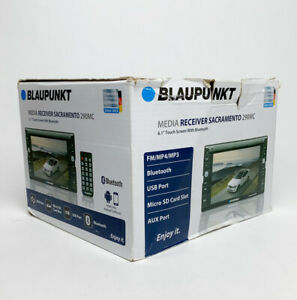 Blaupunkt SACRAMENTO 290MC 6.1in Touch Screen Multimedia Stereo Receiver Untest