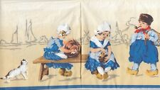 2 Lunch Papier Servietten Napkins (67-52) Holland - Kinder mit Katzen