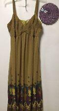 Womens dress size 18 green pink blue multi maxi sleeveless Jessica London 68