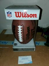 Wilson Touchdown Football Official Nfl Size Authentic Nib