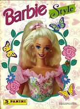 "PANINI: ALBUM FIGURINE ""Barbie Style"" - COMPLETO (1995)"