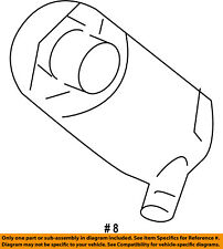 FORD OEM Windhsield Wiper-Washer Fluid Pump 8C3Z17664A