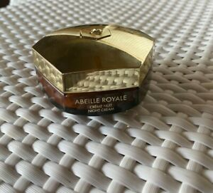 GUERLAIN Abeille Royale Night Cream Firms Smoothes Redefines 1.6 Oz  Unboxed