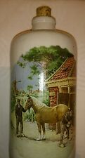 Rare Collectable Royal Schwabap Holland stoneware bottle vase