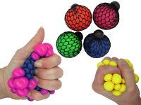 Quetschball im Netz 12-144 stk Stressball Wut Ball Streß Knautschball Stressball