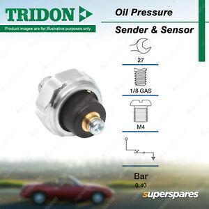 Tridon Oil Pressure Light Switch for Suzuki Grand Vitara Hatch Ignis Jimny