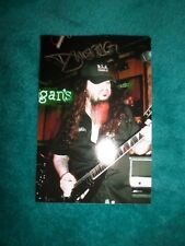 DIMEBAG DARRELL RARE SIGNED LIVE PHOTO AUTOGRAPH PRINT